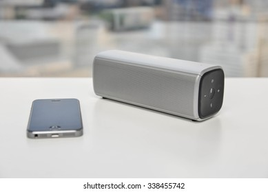 Bluetooth Speaker connected with mobile phone