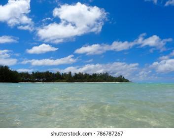 Bluewater of Muri lagoon