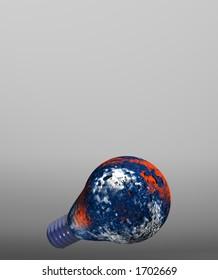 blue-white-red bulb