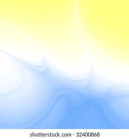 blue-white-yellow gradient abstraction