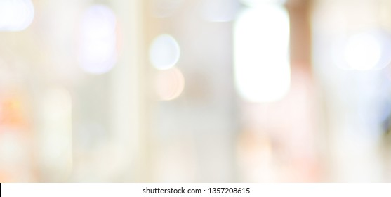 Blur abstract background, blurred gradient bright light with copy space backdrop, banner, blank mordern business office interior hallway building design background