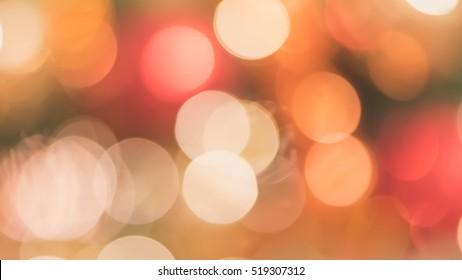Blur abstract background merry christmas party celebration x'mas tree night light bokeh