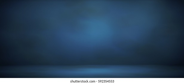 blur abstract soft  blue studio background