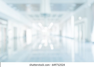 Blur abstract white  Interior background