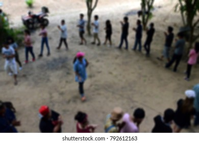 Blur Activity Camp Employee Offsite