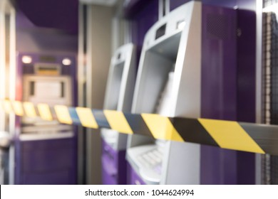 blur ATM machine out of order