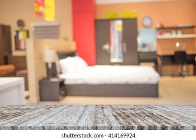 Blur Background In Bedroom