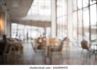 blur background of coffee shop, cafe, restaurant.