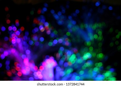 Blur Background Colorful Bokeh