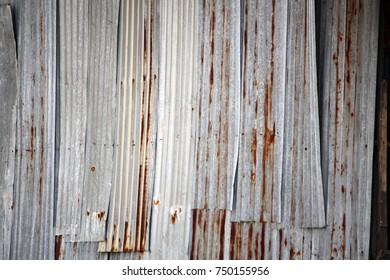 Blur of Background & Metal sheet texture