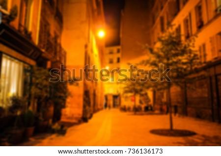 blur background of midnight