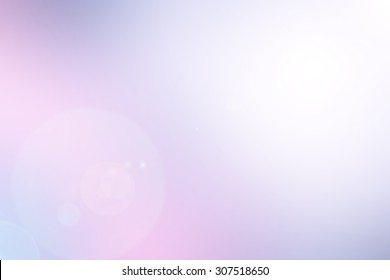 blur beautiful purple with shining flare light background for design concept.