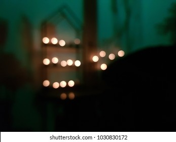 Blur blackground night