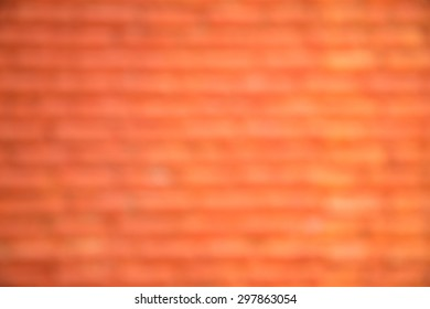 Blur brick wall background