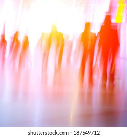blur business people abstract background