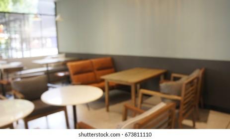blur cafe background.