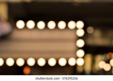 Blur of Cafe Facia, Sign Shop