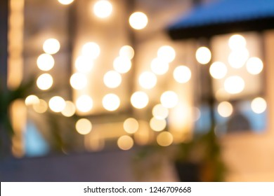 Blur christmast gold light bokeh background