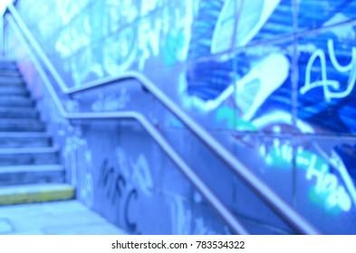 blur city view