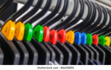 Blur Colored Hanger Sizer Garment Markers