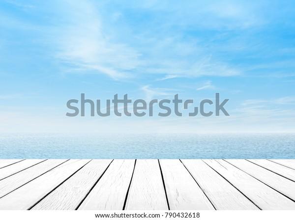 Foto De Stock Sobre El Azul Del Mar Con El Editar Ahora