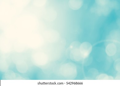 Blur dream turquoise shade clean morning nature with bokeh background concept modern csr theme, eco spring, baptism background, fresh green bio farm. Abstract blue cyan shade in summer wallpaper