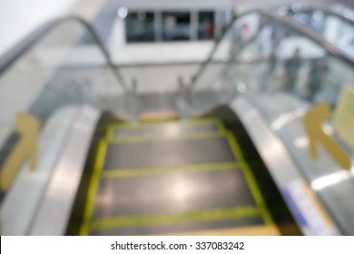blur escalator