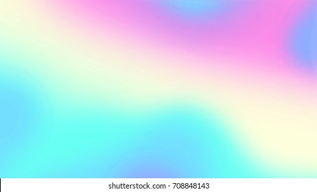 Blur holographic neon foil background