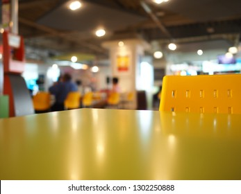 Blur image Canteen, Abstract blurred canteen, Abstract blur and defocused breakfast at canteen, Blur image Canteen in Supermarket.
