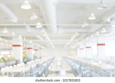 blur image canteen dining hall room white, eating food in university canteen blur background, blurred background cafeteria white in interior