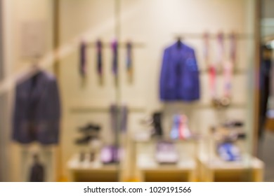 Blur image of Gentlemen Dress Shop.
