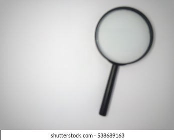 blur image of Magnifying glass
