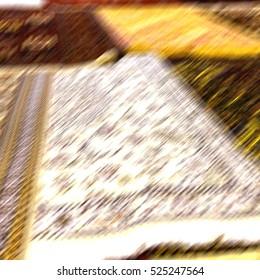 blur in iran antique carpet textile  handmade beautiful arabic ornament