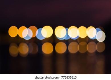 blur light bokeh abstrac background