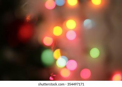 Blur light for bokeh background