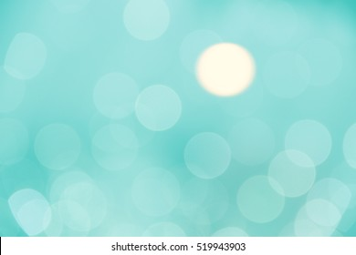 Blur lights. Abstract circle Bokeh lights effect for background usage