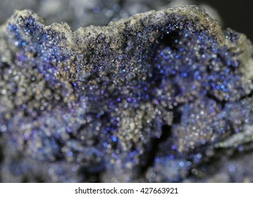 Blur mineral Plumosite Bournonite ,Sulphide mineral of antimony and lead