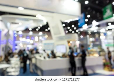 blur money expo exhibition for business trade fair show tradeshow