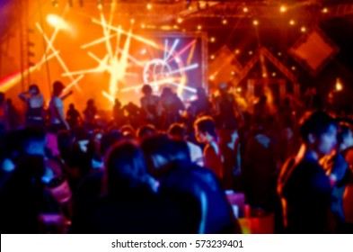 Blur Night club have party.