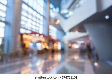 blur office  building interior