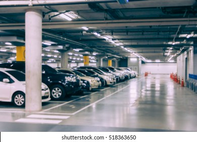 Blur parking slot