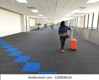 Blur Backgrounds​, Passenger Arrival Airport in Thailand.