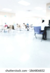 blur people in hospital or office