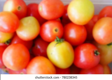 blur photo background for fresh tomato vegetable