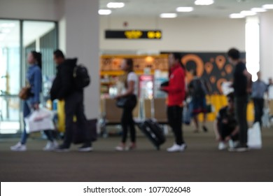 Blur Picture In Airport