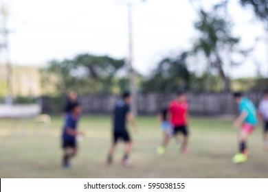 Blur play football