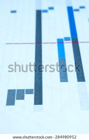 Blur Project Plan Gantt Chart Background Stock Photo Edit Now
