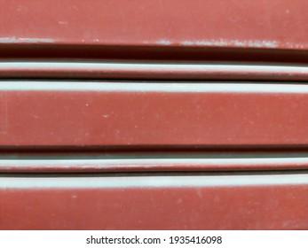 blur red steel door texture black ground abstract