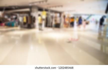 blur of shoppingmall
