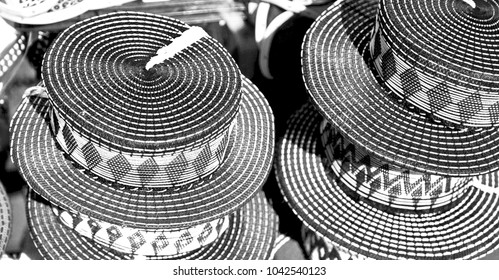 blur in south africa close up of the colored hat  like   texture background